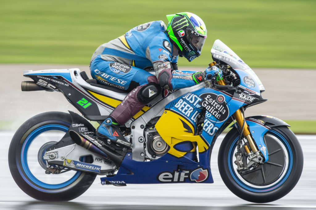 Franco Morbidelli crowned MotoGP Rookie of the Year in 2018